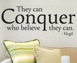 conquer quotes Promotion