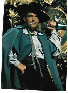 Douglas Fairbanks Jr signed ultimate picture in The Mark of Zorro