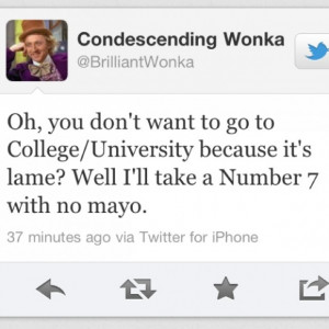 Funny college quotes 1