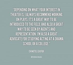 Displaying 18> Images For - Quotes About Theatre...