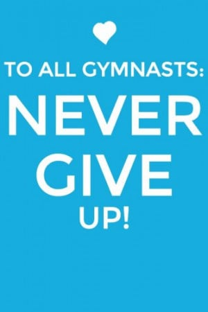 Gymnastics Quotes - Gymnastics Quotes Pictures
