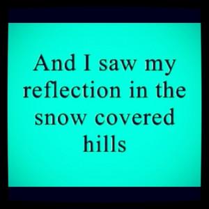 from Landslide by Fleetwood Mac