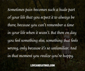that moment when you realize you love someone