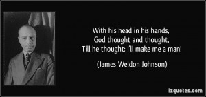 More James Weldon Johnson Quotes