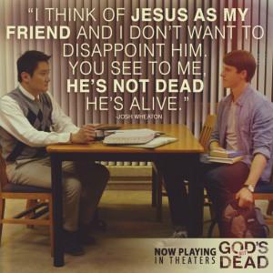 God's Not Dead - Paul Kwo as (Martin Yip) & Shane Harper as (Josh ...