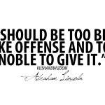 quotes, sayings, offense, noble, brainy abraham lincoln, quote, quotes ...