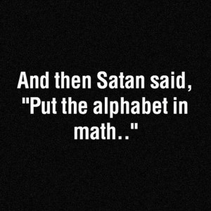 funny quotes, math