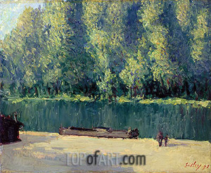 Alfred Sisley Paintings Reproductions Famous Artists Decoration