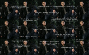 Supernatural Dean Quotes Wallpaper