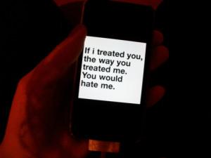 broken, iphone, love, quote, treat, you