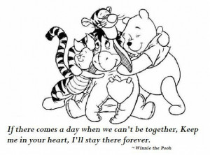 Ahhh so sweet Pooh Bear.