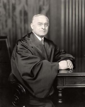 Image Photograph Depicting Justice Felix Frankfurter With