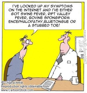 hypochondriac.....dear lord let them eat!!!!