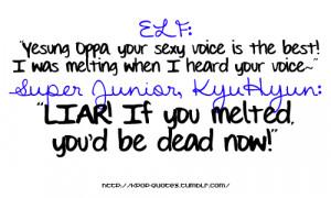 sujudom:evil-fishy:Super Junior Quotes (cc: kpop-quotes.tumblr.com ...