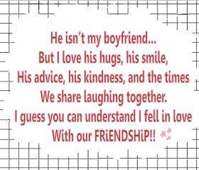 He Isn't My Boyfriend But I Love His Hugs, His Smile, His Advice, His ...