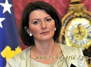 Atifete Jahjaga-President of Kosovo