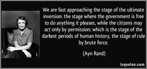 Ayn Rand, Secularism, and Certainty
