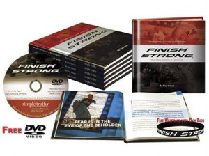 Finish Strong Book - DVD & FREE Wristband
