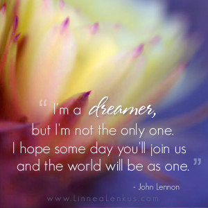 ... Quotes > All Inspirational Quotes > Art > Imagine Quote by John Lennon