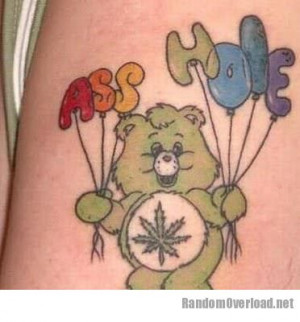 ... use, profanity, and misuse of kid cartoons all in one handy tattoo