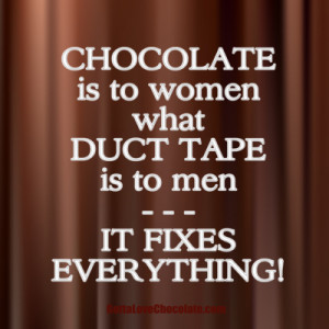 Quotes About Stress and Chocolate