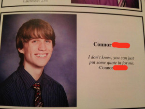 funny yearbook quotes put a quote for me