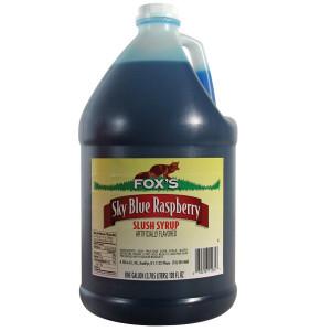 fox 39 s black raspberry slush syrup 1 gallon