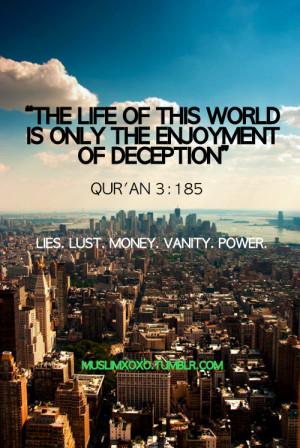 Deception | Islamic Quotes