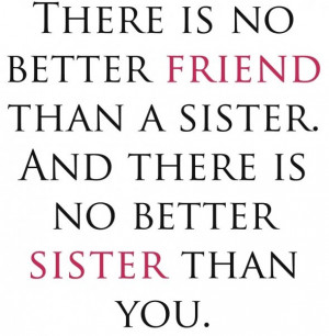 Cute Sister Quotes For Facebook Sister Quotes
