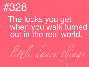 Dance Problems Quotes Little dance things