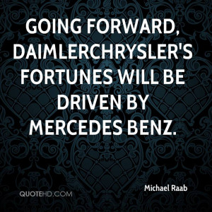 Going forward, DaimlerChrysler's fortunes will be driven by Mercedes ...