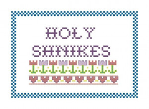 Tommy Boy Cross Stitch Pattern - Chris Farley Quote