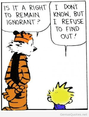 Calvin and Hobbes cartoon quote. Calvin and Hobbes cartoon ...