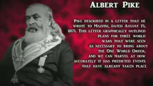Albert Pike plan for NWO