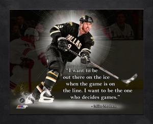 Mike Modano Pro Quote -