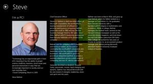 Microsoft Fanboys Behold: Steve Ballmer App Shows Up in Windows Store