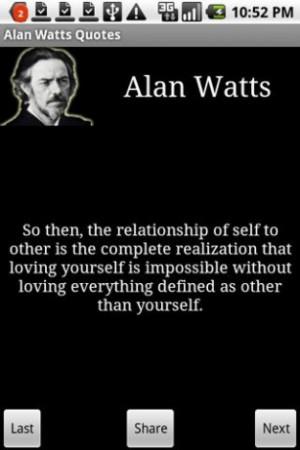 View bigger - Alan Watts Quotes for Android screenshot