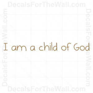 ... -of-God-LDS-Mormon-Wall-Decal-Vinyl-Art-Sticker-Quote-Lettering-K71