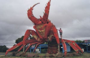 Big Things': The Big Lobster, also know as 'Larry The Lobster ...