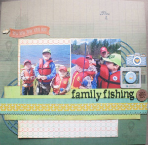 Fishing Quotes for Scrapbooking | family fishing - Scrapbook.com