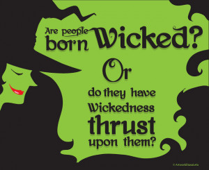 ... and illustrate one of my favorite quotes from the musical wicked enjoy
