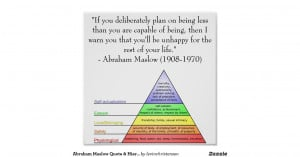 abraham_maslow_quote_hierarchy_of_needs_posters ...