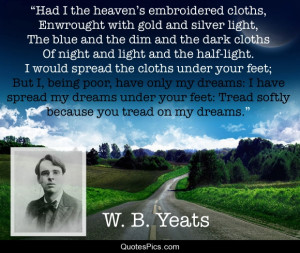 dreams poetry w b yeats yeats post navigation