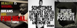 Best rapper quotes Profile Facebook Covers