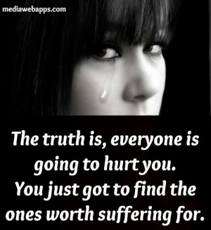 Bob Marley Quotes Truth Is Everybody Is Going To Hurt You The truth is ...