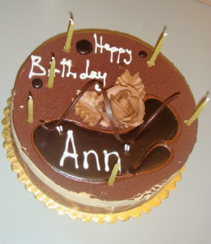 also appropriate for cake wrecks as ann may or may not be the name of ...