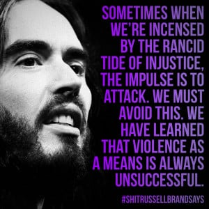 """... ."""" - Russell Brand From """"Revolution"""" by Russell Brand, page 73"""