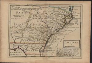 South Carolina Colony Map