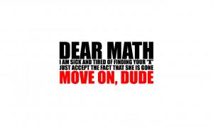 Math Quotes HD Wallpaper 5