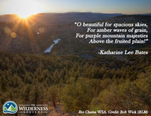 18 patriotic wilderness quotes for July 4th